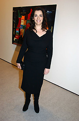 NIGELLA LAWSON at a reception to celebrate the opening of 'USA Today' - an exhibition of work from The Saatchi Gallery held at The Royal Academy of Arts, Burlington Gardens, London on 5th September 2006.<br />