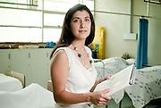 Lilian Ferrer, EM, MC, PhD. Es Directora de Investigacion y Coordinadora de Asuntos Internacionales y Profesora Asociada del Departamento de Salud del Adulto y Senescente de la Escuela de Enfermería de la Facultad de Medicina de la Pontificia Universidad Católica de Chile. .Sus areas de desarrollo son la Salud Pública, las Ciencias Comunitarias, los Movimientos Sociales, la Prevención de VIH/SIDA y la Salud de la Mujer. Santiago, Chile. 20-01-2012 (©Alvaro de la Fuente/TRIPLE)