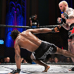 GALORE BOFANDO TAKES A LEG SWEEP AT PETER IRVING - UCMMA 34 2 JUNE 2013