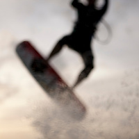 Kiteboarding Waimanalo @ Sunrise