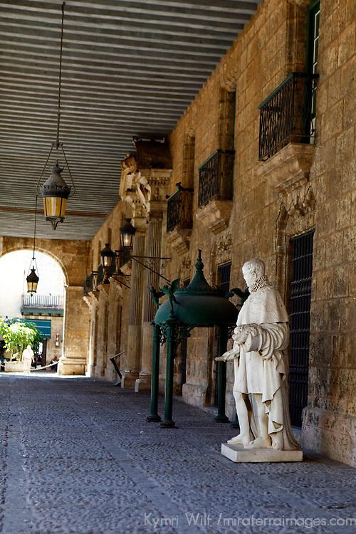 Central America, Cuba, Havana. Palacio de los Capitanes Generales,  Museum of the City of Havana.