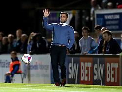 Bristol City head coach Lee Johnson - Mandatory by-line: Robbie Stephenson/JMP - 09/08/2016 - FOOTBALL - Adams Park - High Wycombe, England - Wycombe Wanderers v Bristol City - EFL League Cup