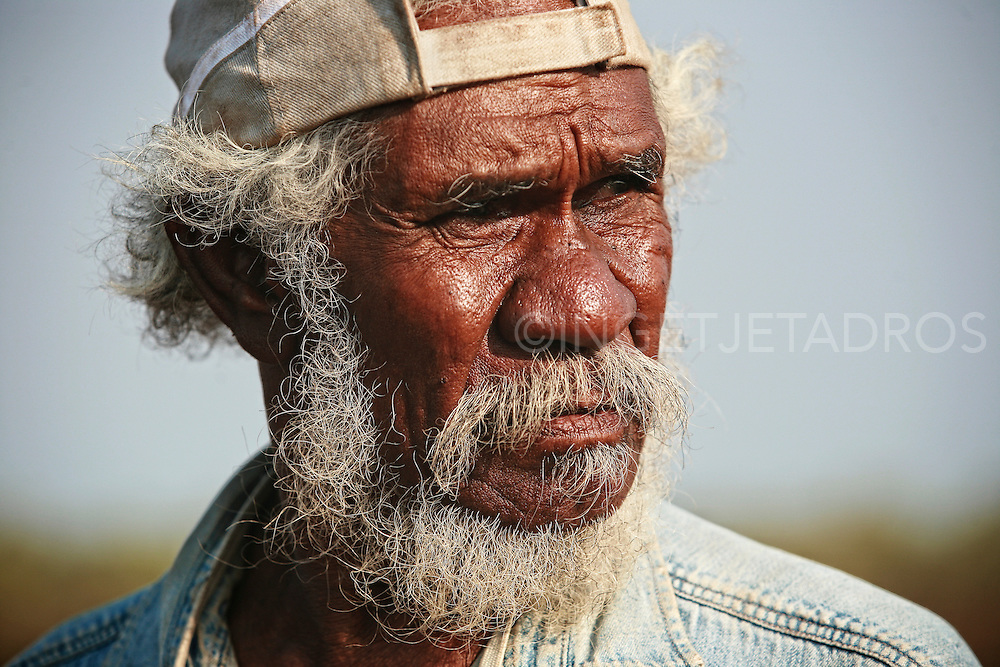 Aboriginal artefacts and remains repatriated in Bidyadanga, Western Australia.