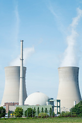 Grafenrheinfeld nuclear power station in Germany