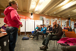 Captains' Meeting, 2015 IPC Snowboarding World Championships, La Molina, , Spain