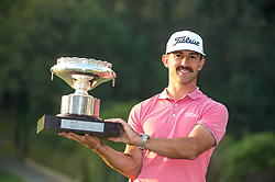 November 26, 2017 - Hong Kong, Hong Kong SAR, CHINA - HONG KONG SAR,CHINA: November 26 2017. Australian Wade Ormsby wins the Hong Kong Open Golf at Hong Kong Golf club Fanling. (Credit Image: © Jayne Russell via ZUMA Wire)