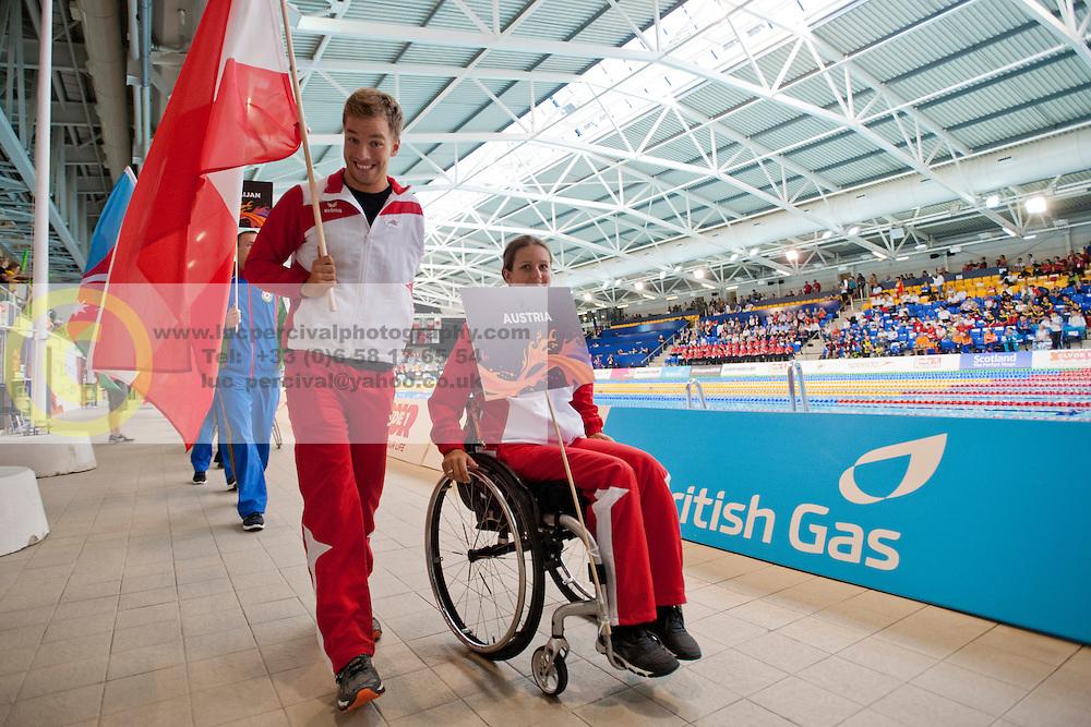 Athletes  at 2015 IPC Swimming World Championships -  Opening Ceremony