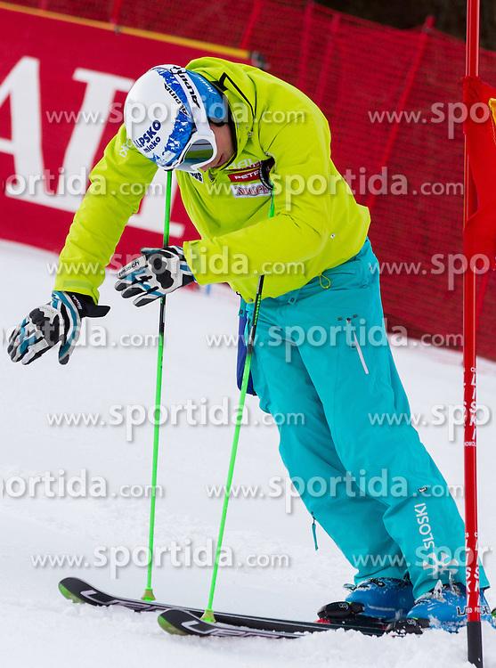 SKUBE Maticof Slovenia prior to the 1st Run of 8th Men's Giant Slalom - Pokal Vitranc 2012 of FIS Alpine Ski World Cup 2011/2012, on March 10, 2012 in Vitranc, Kranjska Gora, Slovenia.  (Photo By Vid Ponikvar / Sportida.com)