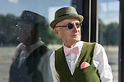 "104-Year-Young Grandpa Has More Style Than You<br /> <br /> Fashion is something that changes with time, but certain fashions are timeless. Take this elderly gentleman, Günther Krabbenhöft, While some other sources incorrectly reported this man's age as 104, the grandpa himself says on his FB profile that the Internet has ""doubled"" his age. Various other sources say he's between 68-70 years old; the fact is, modern day hipsters could take a few lessons from this guy.<br /> ""I find that I dress pretty normal. I've always dressed like this. When I went to work, when I go to exercise. I want to look at myself with joy. It's also always a reflection of my inner self,"" said Günther Krabbenhöft to Björn Akstinat of the Berlin street style blog www.schickaa.com. <br /> ©Denis Kooné/Exclusivepix Media"
