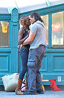 I ran into this couple at Astor Place in NYC.  Clearly high as I watched them for about 30 minutes... but in love.  <br /> This is Junkie Love.