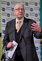 Pictured: Brexit Secretary Mike Russell MSP speaks at the rally.<br /> <br /> Supporters for a People's Vote on Brexit held a Rally for Europe in Edinburgh on Saturday. Prominent speakers included Mike Russell, Labour MEP Catherine Stihler, economist Anton Muscatelli.<br /> <br /> &copy; Dave Johnston / EEm