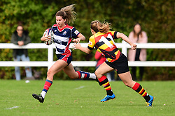 Lillian Stoeger of Bristol Ladies in action - Mandatory by-line: Craig Thomas/JMP - 17/09/2017 - Rugby - Cleve Rugby Ground  - Bristol, England - Bristol Ladies  v Richmond Ladies - Women's Premier 15s