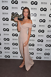 BELLA HADID at the GQ Men of The Year Awards 2016 in association with Hugo Boss held at Tate Modern, London on 6th September 2016.