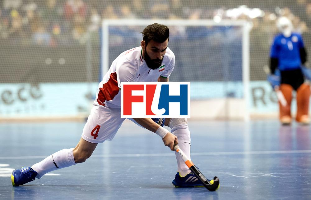 BERLIN - Indoor Hockey World Cup<br /> Bronze: Iran - Australia<br /> foto: ASNAASHARI Mohammad.<br /> WORLDSPORTPICS COPYRIGHT FRANK UIJLENBROEK