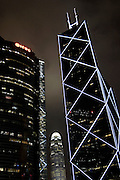 Skyscrapers in Wan Chai