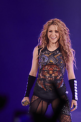 July 3, 2018 - Madrid, Spain - SHAKIRA performs live on stage during the 'El Dorado World Tour' at WiZink Center in Madrid. (Credit Image: © Jack Abuin via ZUMA Wire)