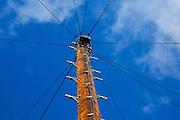 Telegraph pole, Worcestershire, United Kingdom