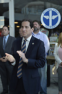 Garden City, New York, USA. May 31, 2017. New York Senator TODD KAMINSKY attends Nassau County Democratic Nominating Convention at atrium of Cradle of Aviation Museum.