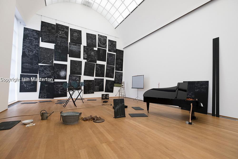 Das Kapital Raum by Beuys at Hamburger Bahnhof modern art museum in Berlin, Germany
