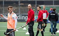 AMSTELVEEN - Justin Reid-Ross (Adam)   voor   de hoofdklasse hockeywedstrijd Amsterdam-HC Rotterdam (7-1).    COPYRIGHT KOEN SUYK