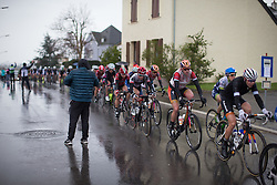 Ellen van Dijk (NED) of Boels-Dolmans Cycling Team rides in the first, 106.9km road race stage of Elsy Jacobs - a stage race in Luxembourg, in Steinfort on April 30, 2016