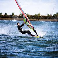 Windsurfing  (Hurricane Gonzalo)