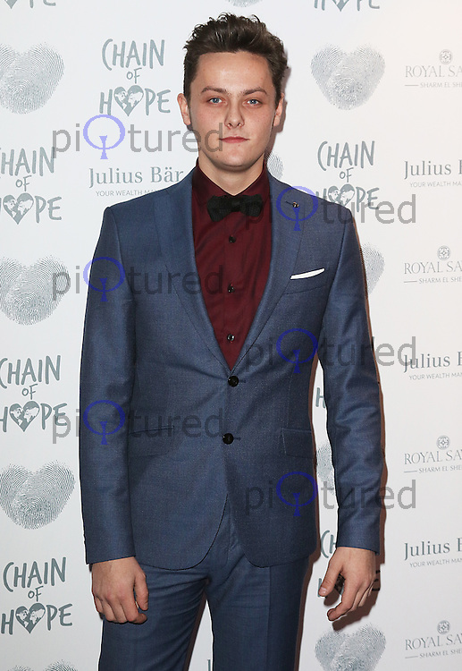Tyger Drew-Honey, Chain of Hope Gala Ball, Grosvenor House, London UK, 20 November 2015, Photo by Brett D. Cove