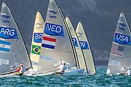 2016 Olympic Sailing Games-Rio-Brazil, ANP Copyright Thom Touw, f-NED- Pieter- Jan Postma- Finn, Finn, Olympische Spelen Zeilen