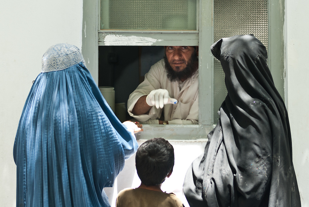 Access to health care, Afghanistan.