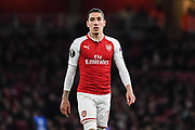 Arsenal Defender Hector Bellerin (24) during the Europa League match between Arsenal and CSKA Moscow at the Emirates Stadium, London, England on 5 April 2018. Picture by Stephen Wright.