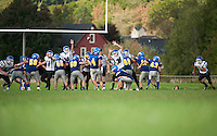 Varsity Football Gilford v Winnisquam September 24, 2011.