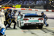 May 10, 2013: NASCAR Southern 500. Jimmie Johnson, Chevrolet , pitstop , Jamey Price / Getty Images 2013 (NOT AVAILABLE FOR EDITORIAL OR COMMERCIAL USE