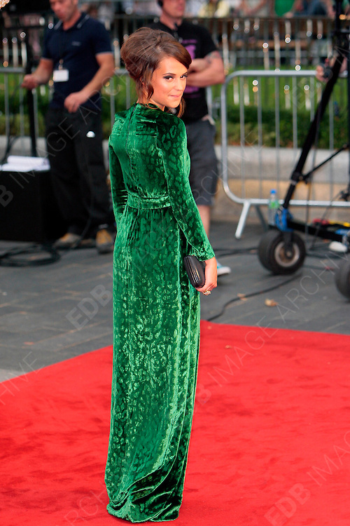 04.SEPTEMBER.2012. LONDON<br /> <br /> ALICIA VIKANDER ATTENDS THE UK FILM PREMIERE OF NEW FILM ANNA KARENINA AT THE ODEON CINEMA, LEICESTER SQAURE.<br /> <br /> BYLINE: EDBIMAGEARCHIVE.CO.UK<br /> <br /> *THIS IMAGE IS STRICTLY FOR UK NEWSPAPERS AND MAGAZINES ONLY*<br /> *FOR WORLD WIDE SALES AND WEB USE PLEASE CONTACT EDBIMAGEARCHIVE - 0208 954 5968*