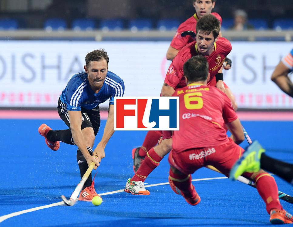 Odisha Men's Hockey World League Final Bhubaneswar 2017<br /> Match id:11<br /> Argentina v Spain<br /> Foto: Lucas Vila (Arg) <br /> COPYRIGHT WORLDSPORTPICS FRANK UIJLENBROEK