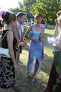 Maria Leavesley, Conservative Party, Summer party, Royal Hospital Chelsea, Royal Hospital Road, London, SW3,3 July 2006. ONE TIME USE ONLY - DO NOT ARCHIVE  © Copyright Photograph by Dafydd Jones 66 Stockwell Park Rd. London SW9 0DA Tel 020 7733 0108 www.dafjones.com