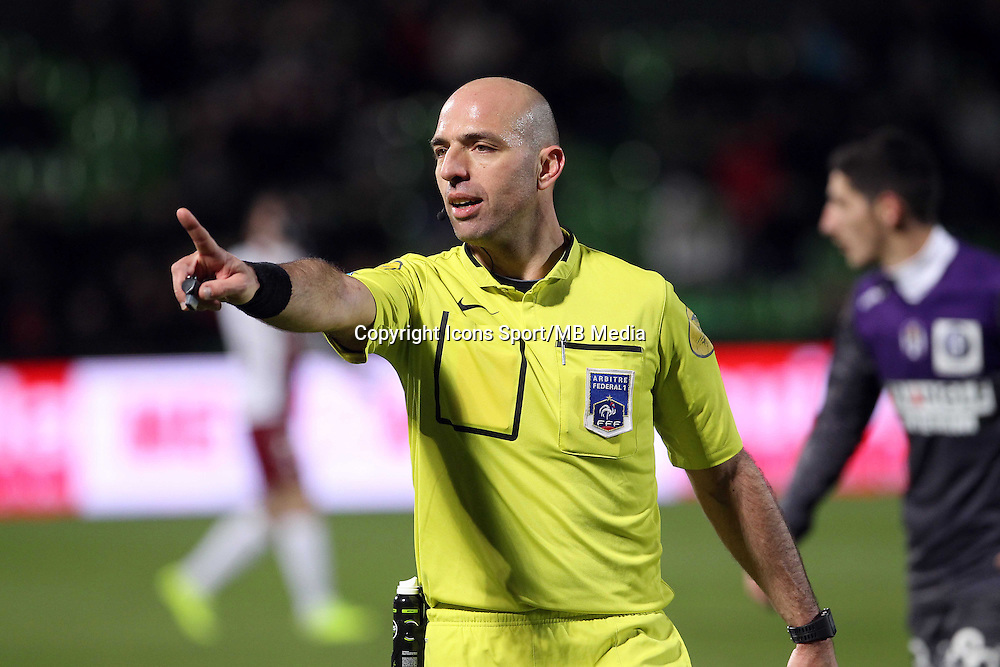Bartolomeu VARELA  - 04.04.2015 - Metz / Toulouse - 31eme journee de Ligue 1 <br />Photo : Fred Marvaux / Icon Sport