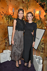 Left to right, ALEXA CHUNG and KATHERINE POWER at the UK launch of WhoWhatWear UK held at Loulou's, Hertford Street, London on 24th November 2015.