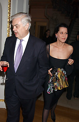PHYLLIS, COUNTESS SONDES  and LORD LAMONT at the Bruce Oldfield Crimestoppers Party held at Spencer House, 27 St.James's Place, London SW1 on 22nd September 2005.<br /><br />NON EXCLUSIVE - WORLD RIGHTS