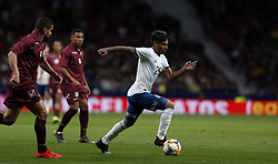 March 22, 2019 - Madrid, Madrid, Spain - Argentina's Domingo Blanco seen in action during the International Friendly match between Argentina and Venezuela at the wanda metropolitano stadium in Madrid. (Credit Image: © Manu Reino/SOPA Images via ZUMA Wire)