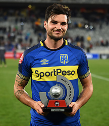 Cape Town-180804 Cape Town City's Roland Putsche was named man of the match against Supersport in the first game of the 2018/2019 season at Cape Town Stadium.photograph:Phando Jikelo/African News Agency/ANAr