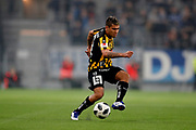 STOCKHOLM, SWEDEN - MARCH 12: Paulinho of BK Hacken during the Swedish Cup Quarterfinal between Djurgardens IF and BK Hacken at Tele2 Arena on March 12, 2018 in Stockholm, Sweden. Photo by Nils Petter Nilsson/Ombrello<br /> ***BETALBILD***