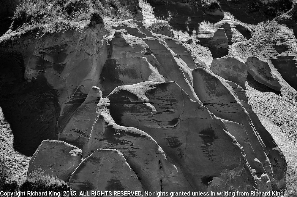 Photographs of the Badlands in SD