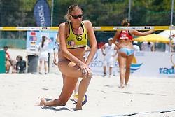 20140604 ITA: EK Beachvolleybal, Cagliari<br /> Ilke Meertens<br /> ©2014-FotoHoogendoorn.nl / Pim Waslander