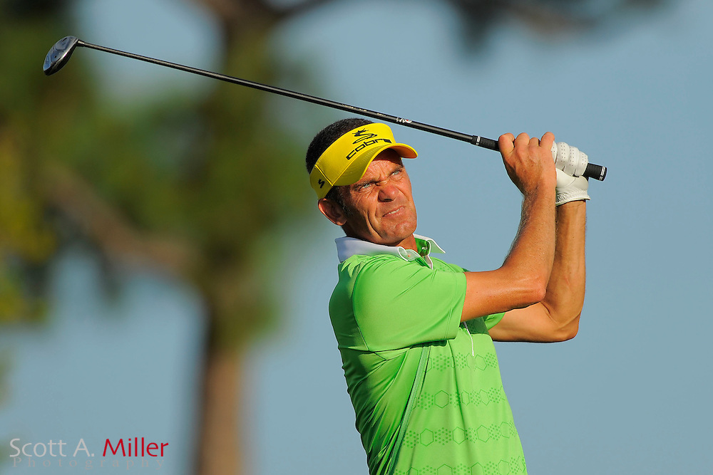 Jesper Parnevik during the second round of the Honda Classic at PGA National on March 2, 2012 in Palm Beach Gardens, Fla. ..©2012 Scott A. Miller.