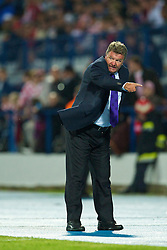OSIJEK, CROATIA - Sunday, May 23, 2010: Wales' manager John Toshack MBE during the International Friendly match against Croatia at the Stadion Gradski Vrt. (Pic by David Rawcliffe/Propaganda)