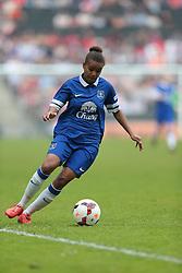 Everton Ladies forward Nikita Parris (9) in action  - Photo mandatory by-line: Nigel Pitts-Drake/JMP - Tel: Mobile: 07966 386802 01/06/2014 - SPORT - FOOTBALL - LADIES - Stadium mk - Milton Keynes - Arsenal Ladies v Everton Ladies - The FA Women's Cup Final