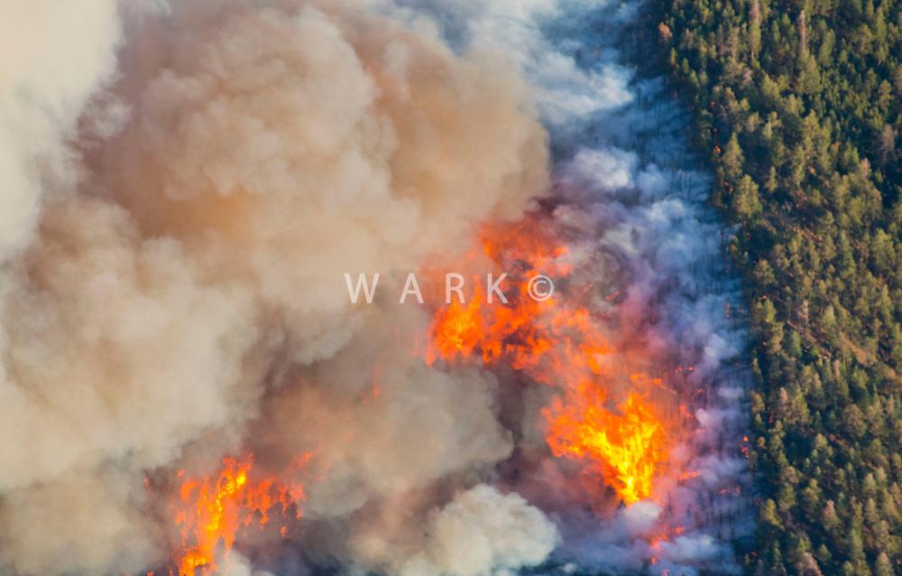 East Peak wildfire near Walsenburg, Colorado. June 2013