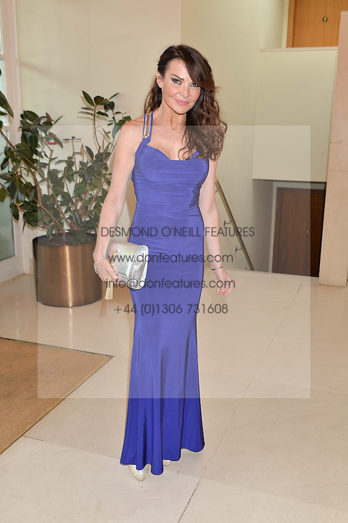 LIZZIE CUNDY at the Ben Cohen Stand Up Foundation Gala evening at The Hurlingham Club, Ranelagh Gardens, London on 21st May 2015.