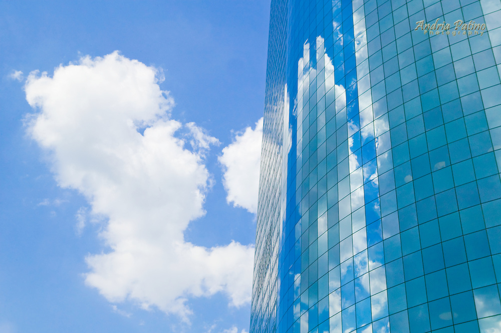 Skyscraper and Cloud