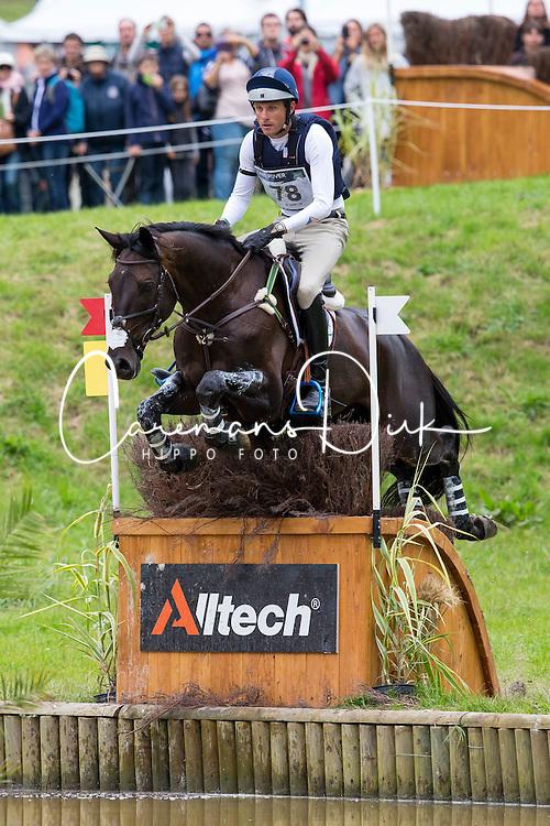 Boyd Martin, (USA), Shamwari 4 - Eventing Cross Country test - Alltech FEI World Equestrian Games™ 2014 - Normandy, France.<br /> © Hippo Foto Team - Leanjo de Koster<br /> 30/08/14